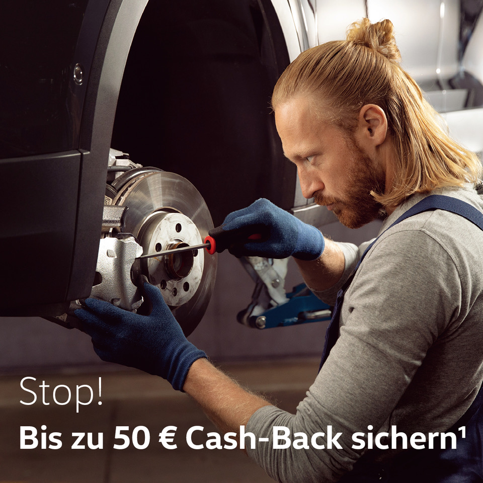 Jetzt bis zu 50 € Cash-Back¹ sichern.