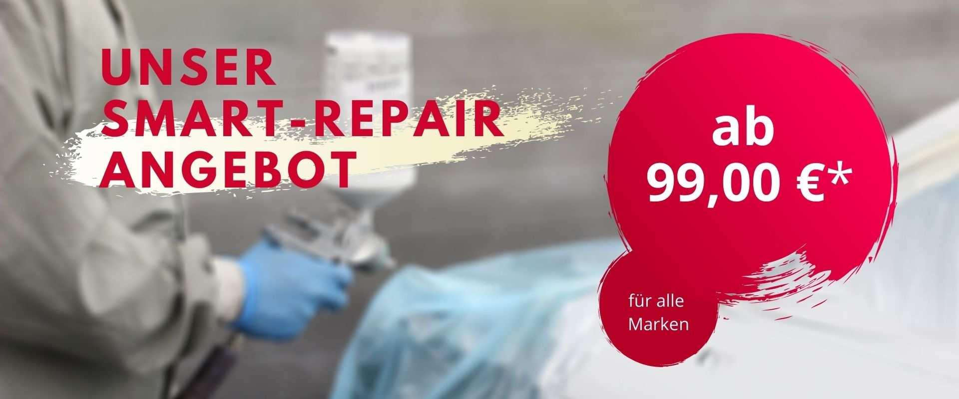 Unser Smart-Repair Angebot im Januar
